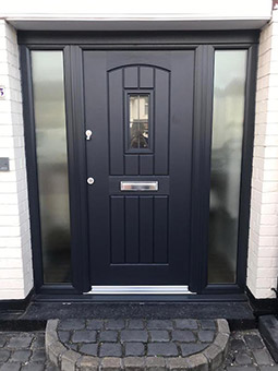 English Cottage Square Lead Anthracite Grey